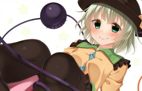 二次 エロ 萌え ゲーム 東方project 古明地こいし 緑髪 帽子 無意識を操る程度の能力 灰色の髪 グリコ 妹 二次エロ画像 komeijikoishi2015061346