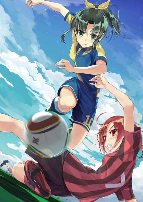 二次 非エロ 萌え フェチ コスプレ スポーツ少女 サッカーユニフォーム ボール 二次非エロ画像 soccer2015061401