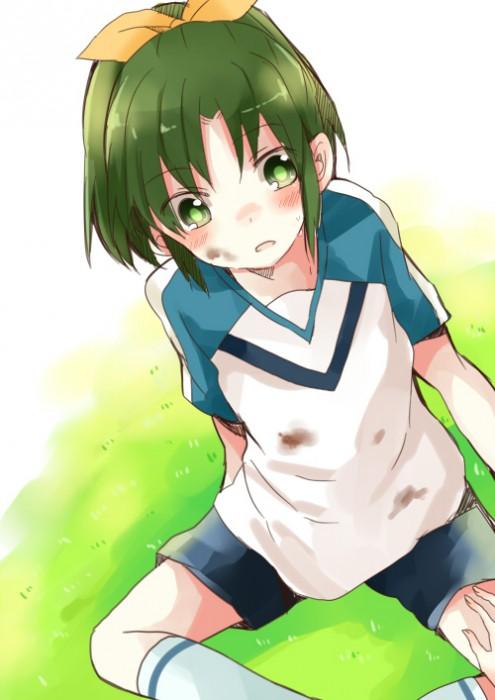 二次 非エロ 萌え フェチ コスプレ スポーツ少女 サッカーユニフォーム ボール 二次非エロ画像 soccer2015061446