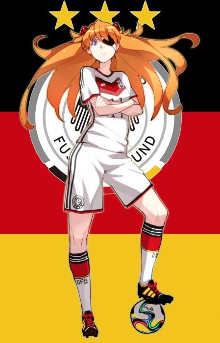 二次 非エロ 萌え フェチ コスプレ スポーツ少女 サッカーユニフォーム ボール 二次非エロ画像 soccer2015061447