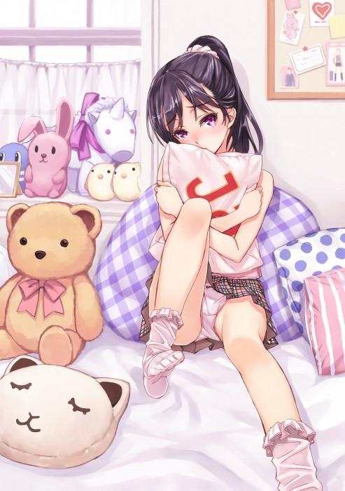二次 エロ 萌え フェチ イエスノー枕 YESNO枕 誘惑 寝そべり うつ伏せ 二次エロ画像 yesnomakura2015062947