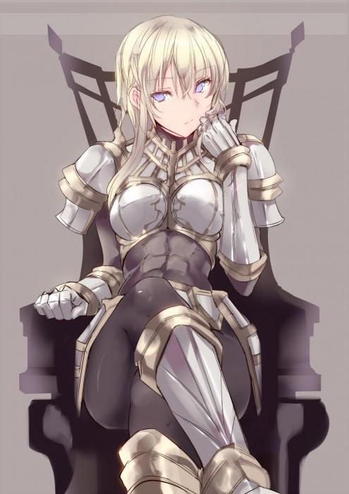 二次 エロ 萌え フェチ 格好良い女 武装少女 武器娘 女騎士 おっぱいのついたイケメン 剣 刀 ソード ビキニアーマー 甲冑 鎧 くっ…殺せ! アナル弱そう 二次エロ画像 yoroi2015061025