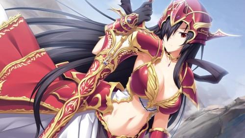二次 エロ 萌え フェチ 格好良い女 武装少女 武器娘 女騎士 おっぱいのついたイケメン 剣 刀 ソード ビキニアーマー 甲冑 鎧 くっ…殺せ! アナル弱そう 二次エロ画像 yoroi2015061037