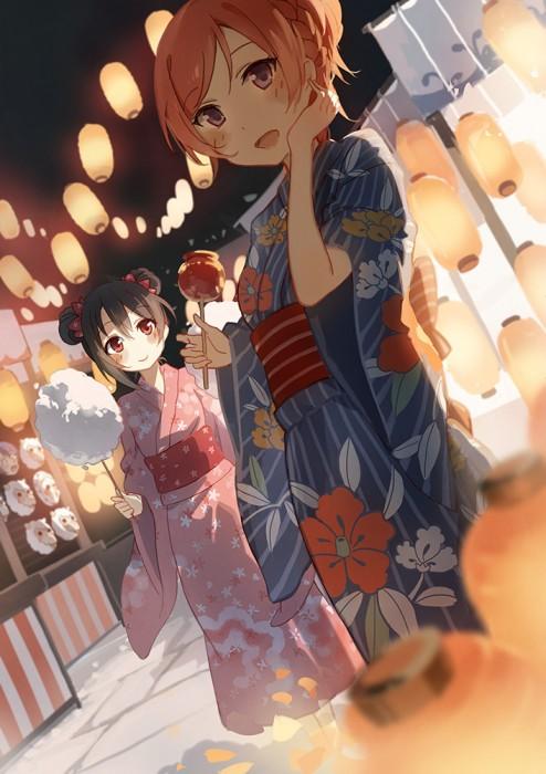 二次 萌え エロ フェチ 和服 着物 浴衣 はだけた 花火 脱衣 季節 夏 お祭り 二次エロ画像 yukata2015070108