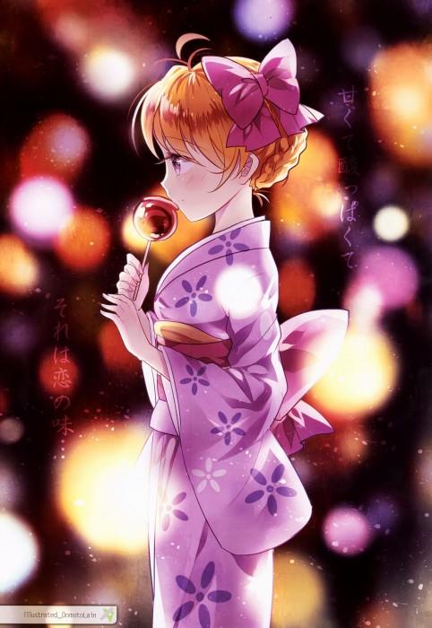 二次 萌え エロ フェチ 和服 着物 浴衣 はだけた 花火 脱衣 季節 夏 お祭り 二次エロ画像 yukata2015070116