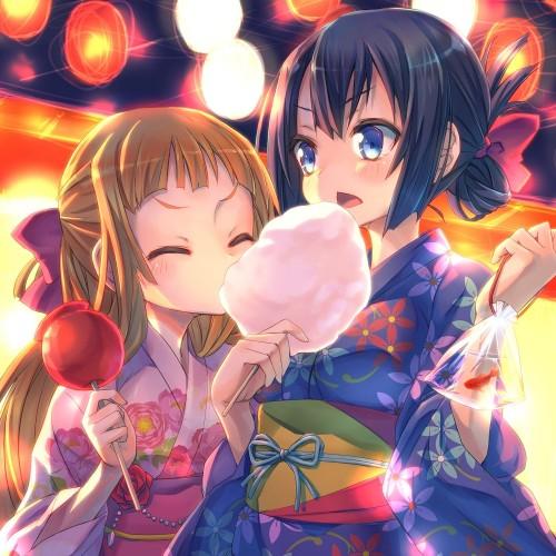 二次 萌え エロ フェチ 和服 着物 浴衣 はだけた 花火 脱衣 季節 夏 お祭り 二次エロ画像 yukata2015070123