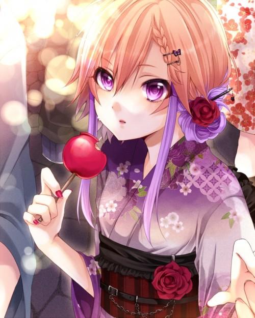 二次 萌え エロ フェチ 和服 着物 浴衣 はだけた 花火 脱衣 季節 夏 お祭り 二次エロ画像 yukata2015070139