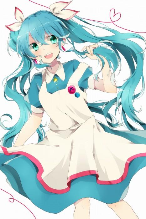 二次 微エロ ゲーム ボーカロイド 初音ミク 萌え 天使 桜ミク ただでさえ天使のミクが かわいい 桜ミク 雪ミク ボトルミク ツインテール 青緑髪 緑髪 いちご白無垢 二次非エロ画像 hatsunemiku2015070912