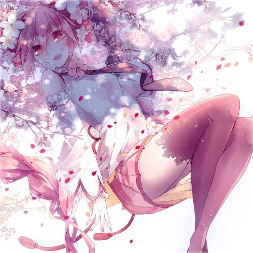 二次 微エロ ゲーム ボーカロイド 初音ミク 萌え 天使 桜ミク ただでさえ天使のミクが かわいい 桜ミク 雪ミク ボトルミク ツインテール 青緑髪 緑髪 いちご白無垢 二次非エロ画像 hatsunemiku2015070917