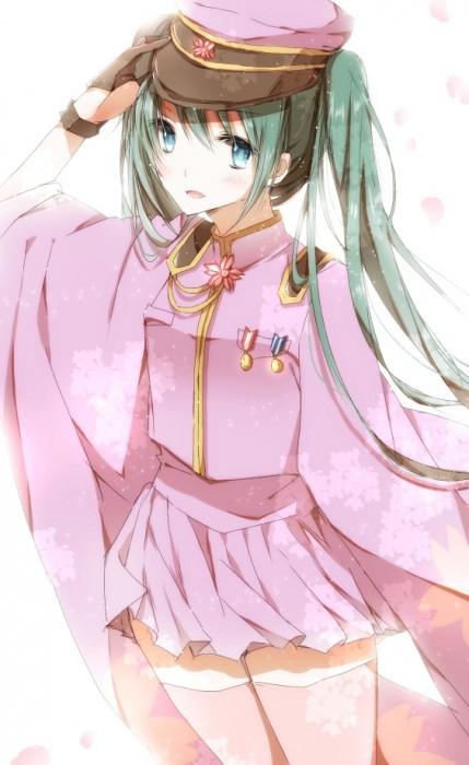二次 微エロ ゲーム ボーカロイド 初音ミク 萌え 天使 桜ミク ただでさえ天使のミクが かわいい 桜ミク 雪ミク ボトルミク ツインテール 青緑髪 緑髪 いちご白無垢 二次非エロ画像 hatsunemiku2015070928