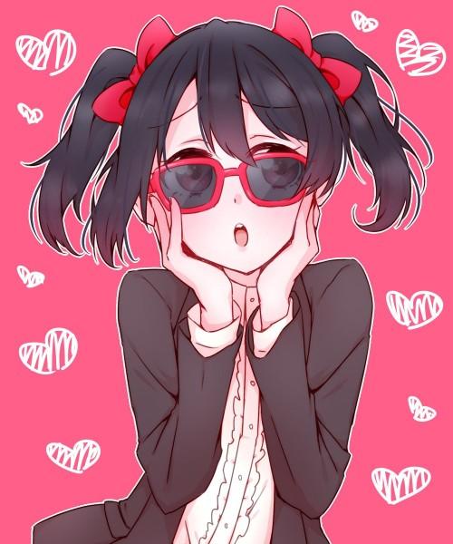 二次 エロ 萌え 黒髪 フェチ 漆黒 髪型 黒髪ロング 黒髪ショート 二次エロ画像 kurokami2015071550