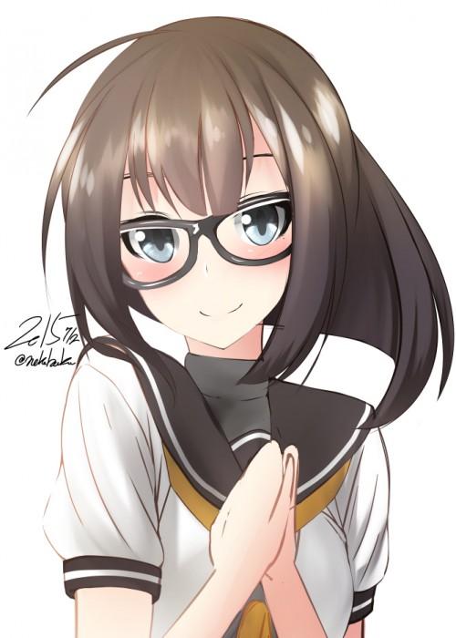 二次 エロ 萌え フェチ メガネ めがね 眼鏡 眼鏡っ娘 二次エロ画像 megane2015072326