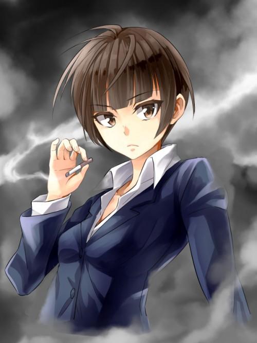 二次 エロ 萌え フェチ タバコ 煙草 煙管 シガー シガレット 二次エロ画像 tabako2015070401