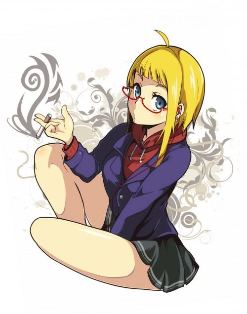 二次 エロ 萌え フェチ タバコ 煙草 煙管 シガー シガレット 二次エロ画像 tabako2015070411