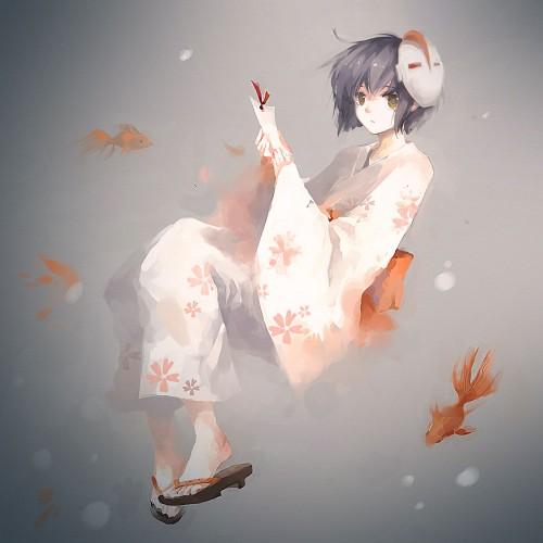 二次 非エロ 萌え 夏 七夕 笹 織姫 彦星 夜 短冊 美少女風景 浴衣 二次非エロ画像 tanabata2015070707