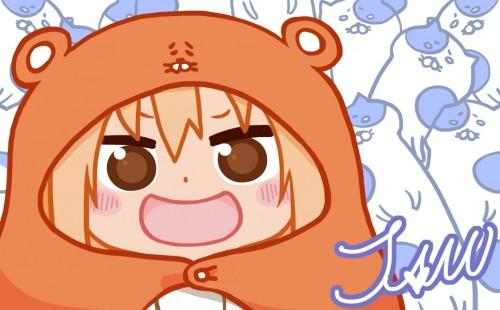 二次 エロ 萌え フェチ 漫画 アニメ 干物妹!うまるちゃん チビキャラ・SDキャラ UMR 土間埋 うまるーん ハムスターフード 亜麻色髪 スパッツ 女子高校生 ニーソ 着ぐるみ ぐうたら 二次エロ画像 domaumaru2015080850