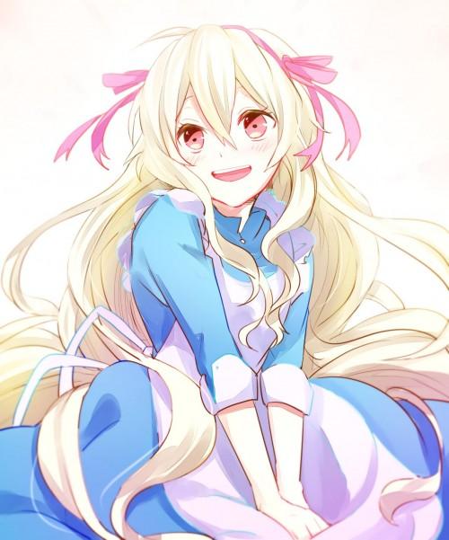 二次 微エロ 萌え 笑顔 笑ってる 見ているこっちまで元気になるような笑顔の女の子の二次画像 胸にグッとくる笑顔・微笑みの画像ください 表情 二次非エロ画像 egao10020150821055