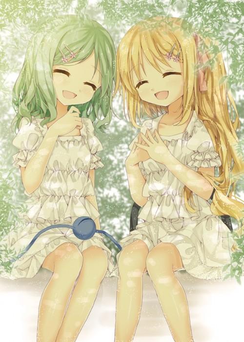 二次 微エロ 萌え 笑顔 笑ってる 見ているこっちまで元気になるような笑顔の女の子の二次画像 胸にグッとくる笑顔・微笑みの画像ください 表情 二次非エロ画像 egao10020150821092