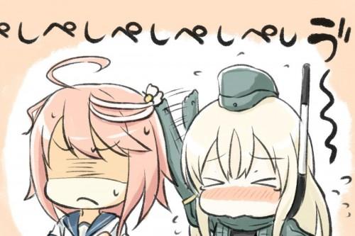 二次 エロ 萌え ゲーム 艦隊これくしょん 艦これ ロリ 貧乳 スク水 ノースリーブセーラー服 銀髪・白髪 ボディスーツ 日焼け 褐色 U-511・呂500 ユー ろー 泳ぐLO どうしてこうなった  信じて送り出したUボートが… 劇的ビフォーアフター セラスク LO500 浮き輪 帽子 潜水艦娘 島田フミカネ 二次エロ画像 u511ro500kancolle2015082336