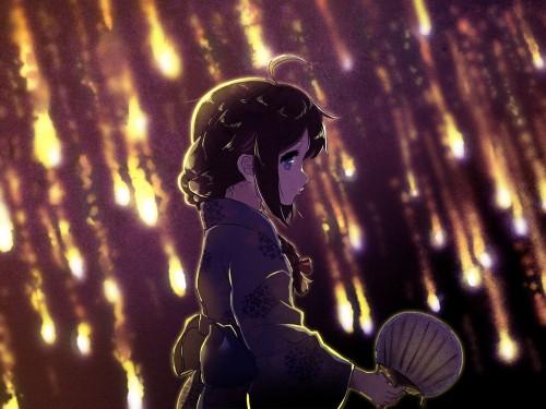 二次 萌え エロ フェチ 和服 着物 浴衣 はだけた 花火 脱衣 季節 夏 お祭り 二次エロ画像 yukata2015082424