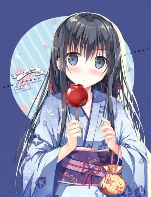 二次 萌え エロ フェチ 和服 着物 浴衣 はだけた 花火 脱衣 季節 夏 お祭り 二次エロ画像 yukata2015082425