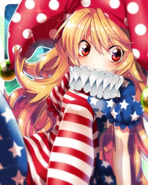二次 エロ 萌え ゲーム 東方project クラウンピース 金髪 ロリ ストッキング・タイツ 星条旗カラー 帽子 人を狂わす程度のタイツ アメリカン 星条旗のピエロ 人を狂わす程度の能力 地獄の妖精 東方紺珠伝 二次エロ画像 clownpiece2015092302
