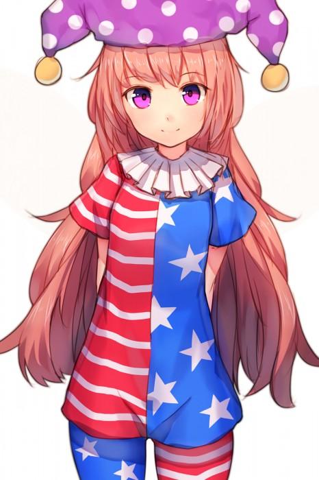 二次 エロ 萌え ゲーム 東方project クラウンピース 金髪 ロリ ストッキング・タイツ 星条旗カラー 帽子 人を狂わす程度のタイツ アメリカン 星条旗のピエロ 人を狂わす程度の能力 地獄の妖精 東方紺珠伝 二次エロ画像 clownpiece2015092342
