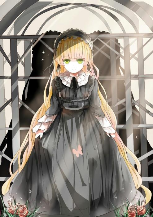 二次 萌え フェチ ゴスロリ ロリ エロ フリル ゴシック ゴス ゴシック・アンド・ロリータ (Gothic&Lolita) メイド ロリータ・ファッション ホワイトロリータ ドレス 二次エロ画像 gothiclolita2015100105