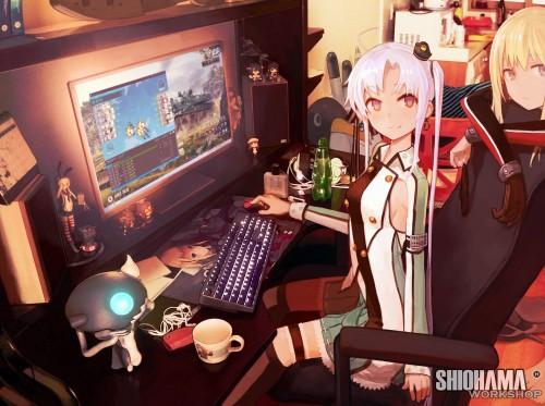 二次 萌え フェチ 非エロ パソコン ノートパソコン PC 二次微エロ画像 pc2015090840