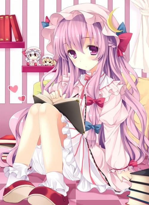 二次 非エロ 萌え フェチ 読書 漫画 雑誌 美少女風景 文学少女 二次非エロ画像 dokusho2015102508