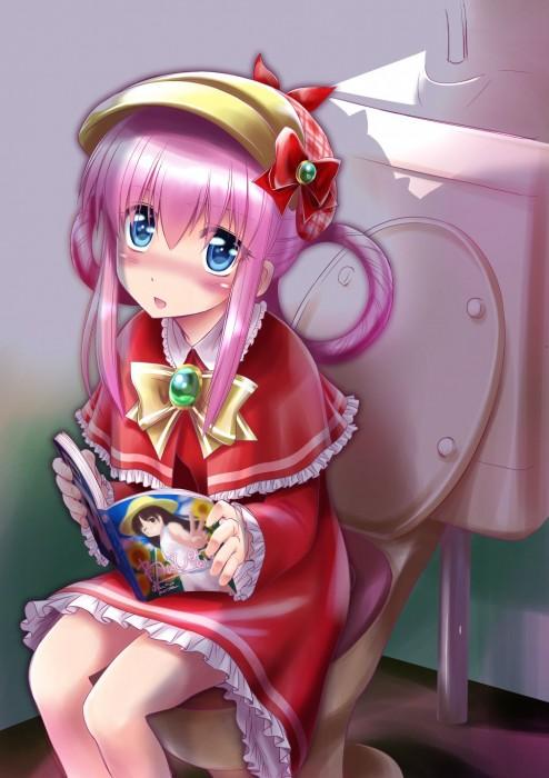 二次 非エロ 萌え フェチ 読書 漫画 雑誌 美少女風景 文学少女 二次非エロ画像 dokusho2015102523