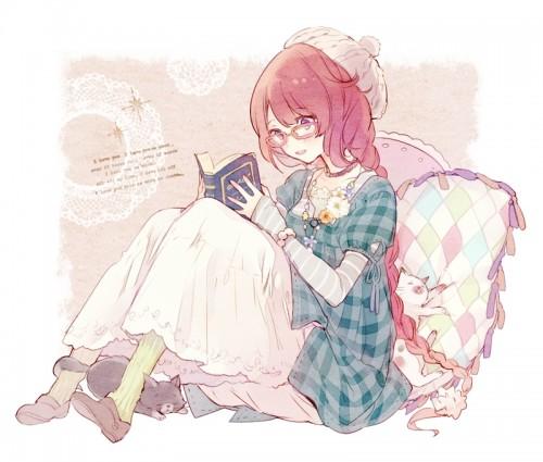 二次 非エロ 萌え フェチ 読書 漫画 雑誌 美少女風景 文学少女 二次非エロ画像 dokusho2015102536