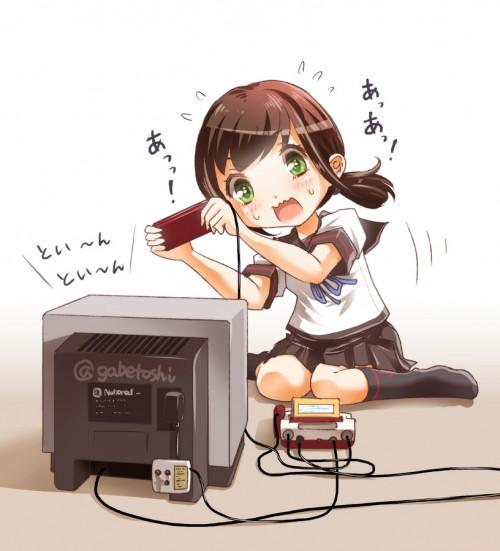 二次 エロ 萌え フェチ ゲーム 娯楽 テレビゲーム 3DS PSP プレステ ファミコン コントローラー 二次エロ画像 game2015100928