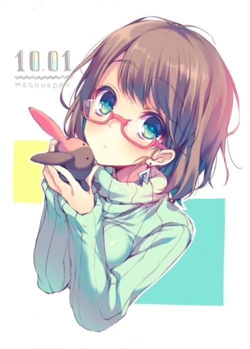 二次 エロ 萌え フェチ メガネ めがね 眼鏡 眼鏡っ娘 二次エロ画像 megane2015102935