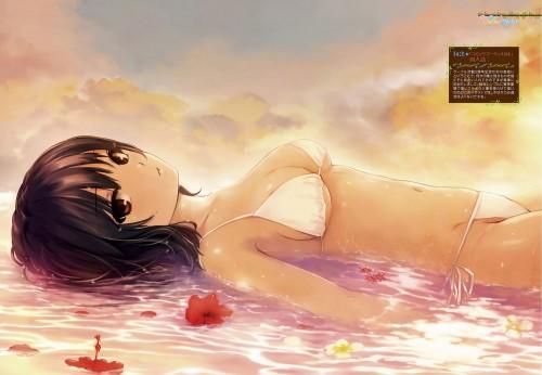 二次 エロ 萌え フェチ 水着 ビキニ ワンピース 危ない水着 際どい水着 Tフロント マイクロビキニ Gストリング パレオ モノキニ タンキニ 二次エロ画像 bikini2015111008