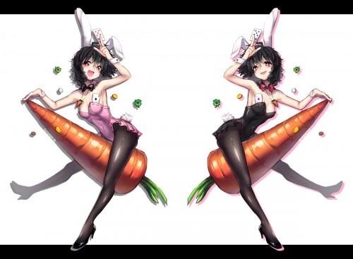 二次 エロ 萌え フェチ コスプレ うさ耳 バニーガール バニースーツ タイツ 網タイツ タイツ ストッキング ハイレグ 付け襟 ハイヒール けもみみ 獣耳 ウサギの真似 二次エロ画像 bunnygirl2015110332
