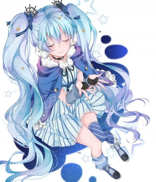 二次 微エロ ゲーム ボーカロイド 初音ミク 萌え 天使 桜ミク ただでさえ天使のミクが かわいい 桜ミク 雪ミク ボトルミク ツインテール 青緑髪 緑髪 いちご白無垢 二次非エロ画像 hatsunemiku2015112018