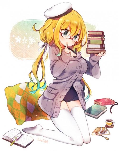 二次 エロ 萌え フェチ ブロンド 金髪 髪型 黄色 二次エロ画像 kinpatsu2015111348