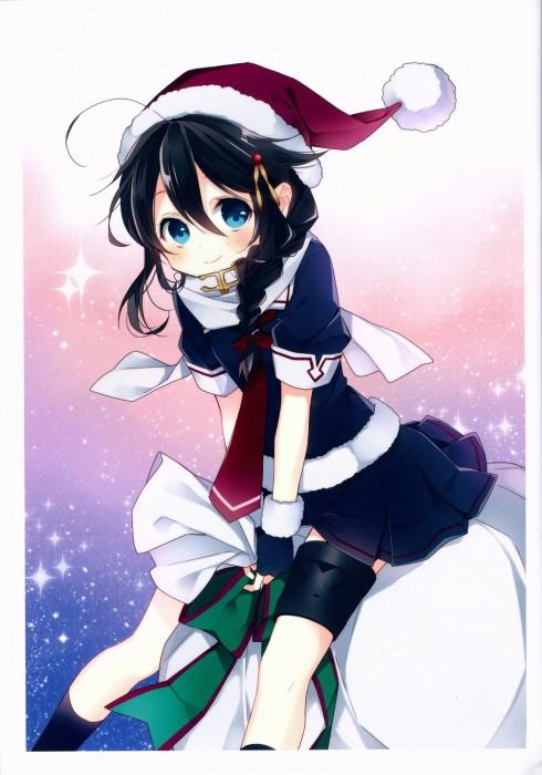 二次 萌え エロ フェチ コスプレ クリスマス 冬 サンタクロース サンタさん 二次エロ画像 santa2015112435