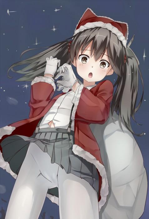 二次 萌え エロ フェチ コスプレ クリスマス 冬 サンタクロース サンタさん 二次エロ画像 santa2015112440