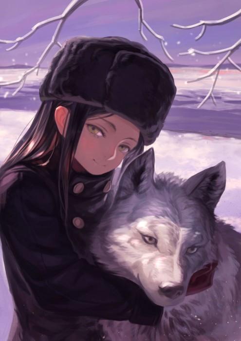 二次 非エロ 萌え 美少女風景 季節 冬 冬服 マフラークリスマス サンタクロース 雪だるま 雪 雪景色 雪の結晶 壁紙 二次非エロ画像 yuki2015111514