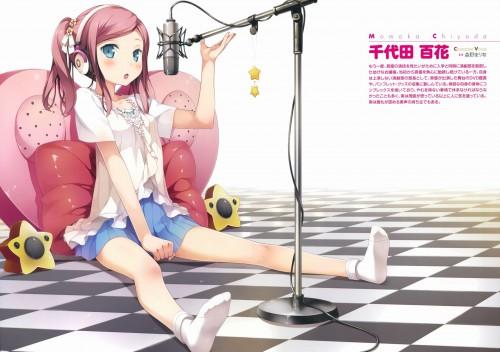 二次 非エロ 萌え ヘッドフォン ヘッドホン 音楽 ヘッドセット エロ 楽器 耳当て 二次微エロ画像 headphone2015121543