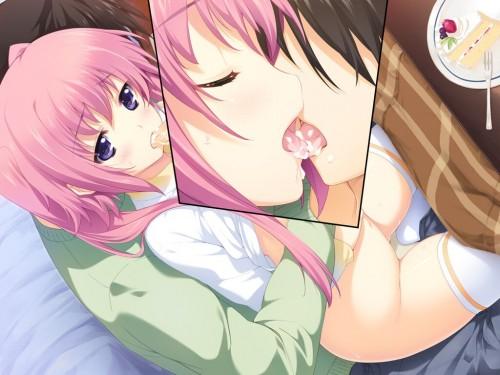 二次 エロ 萌え フェチ キス セックス カップル 百合 レズ 二人は幸せなキスをして終了 二次エロ画像 kiss2015122407