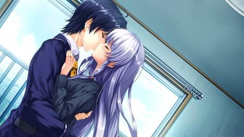 二次 エロ 萌え フェチ キス セックス カップル 百合 レズ 二人は幸せなキスをして終了 二次エロ画像 kiss2015122420