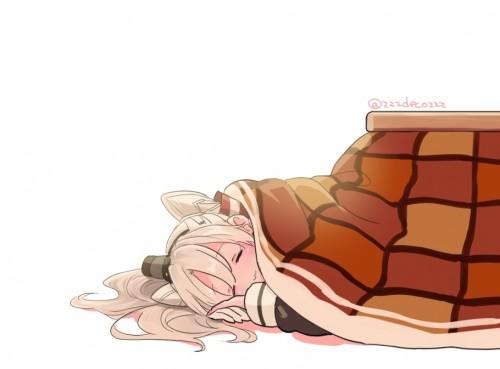 二次 萌え フェチ エロ 冬 コタツ みかん 寝ている 寝顔 和室 食事風景 SDキャラ チビキャラ 正月 炬燵 二次エロ画像 kotatsu2015120235