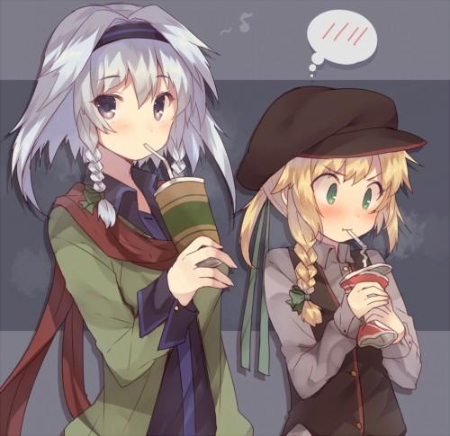 二次 萌え エロ フェチ 髪型 三つ編み おさげ 文学少女 二次エロ画像 mituami2015121029