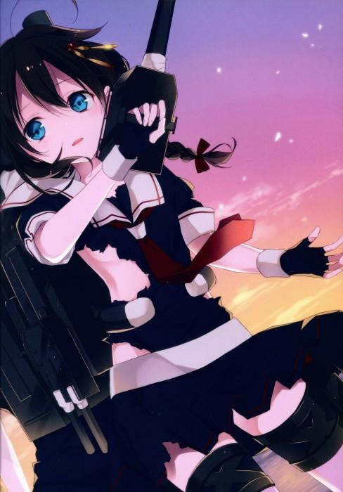 二次 萌え エロ フェチ 髪型 三つ編み おさげ 文学少女 二次エロ画像 mituami2015121036