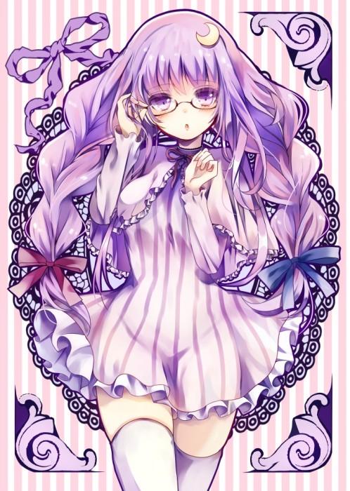 二次 萌え エロ フェチ 髪型 三つ編み おさげ 文学少女 二次エロ画像 mituami2015121050