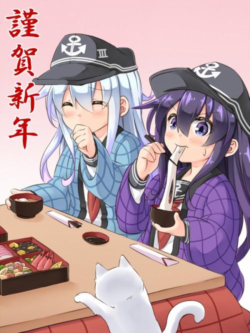 二次 萌え フェチ 食べ物 非エロ 餅 雑煮 お汁粉 磯辺焼き 食べてる 食事風景 飯テロ 二次非エロ画像 mochi2016010132