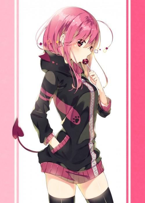 二次 エロ 萌え フェチ ピンク髪 髪型 赤紫 桃色 ピンク色の髪の毛をしたキャラクターは淫乱 淫乱ピンク 二次エロ画像 pinkgami2015121130